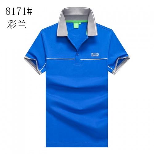 Boss T-Shirts Short Sleeved Polo For Men #820932