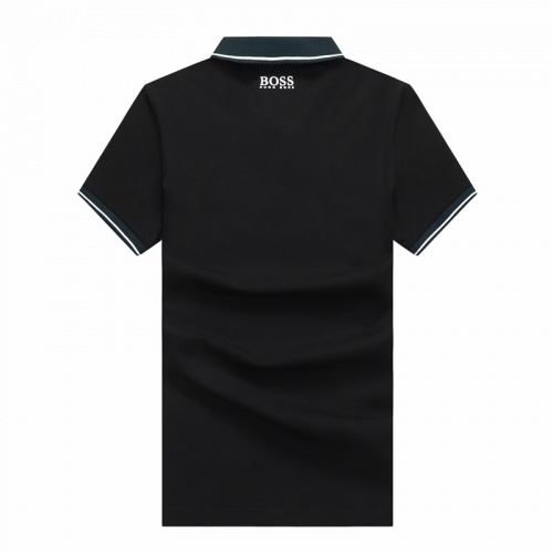 Replica Boss T-Shirts Short Sleeved Polo For Men #820933 $24.00 USD for Wholesale