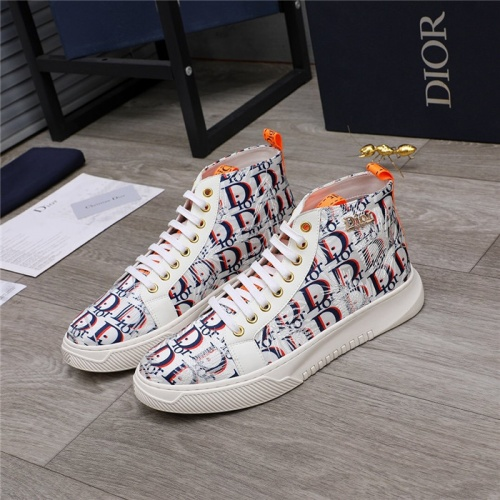 Christian Dior High Tops Shoes For Men #820982