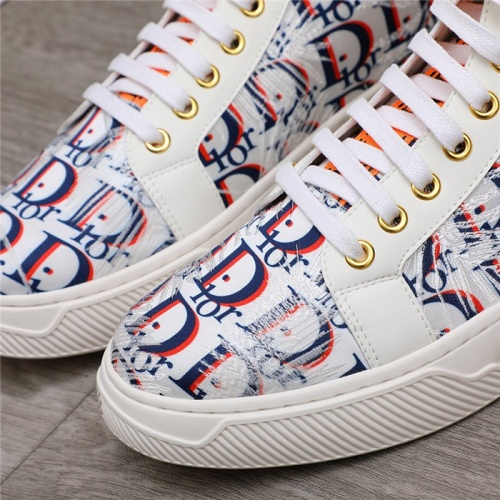 Replica Christian Dior High Tops Shoes For Men #820982 $76.00 USD for Wholesale
