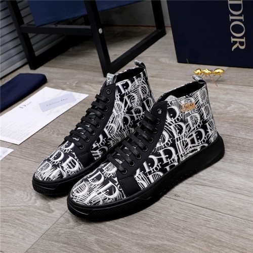 Christian Dior High Tops Shoes For Men #820983