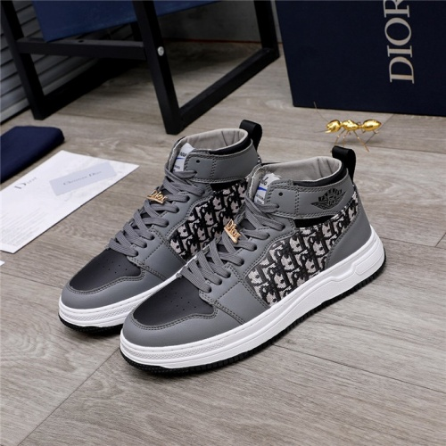 Christian Dior High Tops Shoes For Men #820985