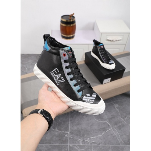 Armani High Tops Shoes For Men #821064
