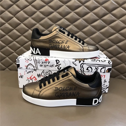 Dolce & Gabbana D&G Casual Shoes For Men #821081