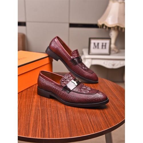 Hermes Leather Shoes For Men #821085