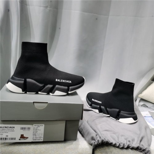 Replica Balenciaga Boots For Men #821214 $98.00 USD for Wholesale