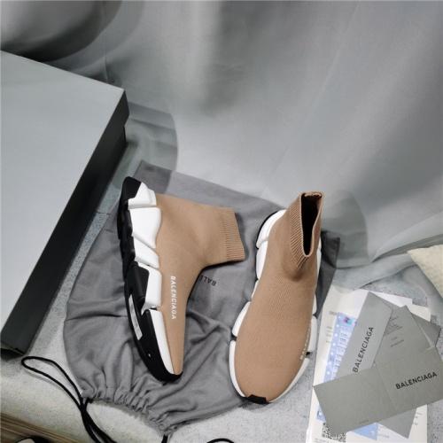 Replica Balenciaga Boots For Men #821219 $98.00 USD for Wholesale