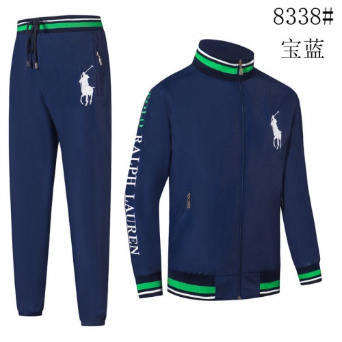 Ralph Lauren Polo Tracksuits Long Sleeved Zipper For Men #821277