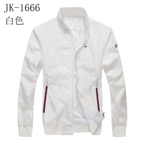Tommy Hilfiger TH Jackets Long Sleeved Zipper For Men #821283