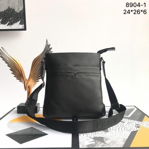 Prada AAA Man Messenger Bags #821316