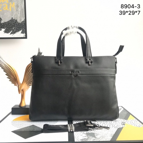 Prada AAA Man Handbags #821319