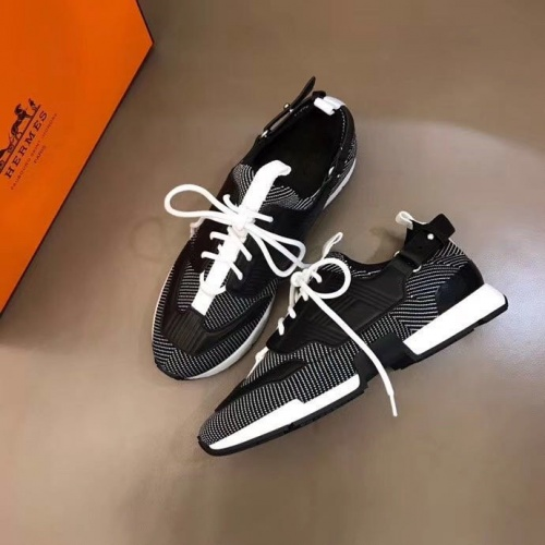 Hermes Casual Shoes For Men #821418 $92.00 USD, Wholesale Replica Hermes Casual Shoes
