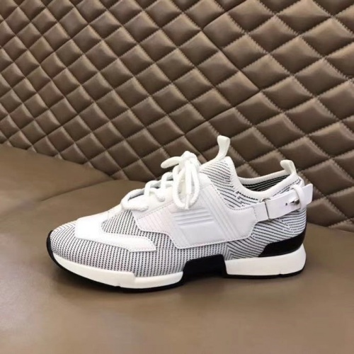 Replica Hermes Casual Shoes For Men #821419 $92.00 USD for Wholesale