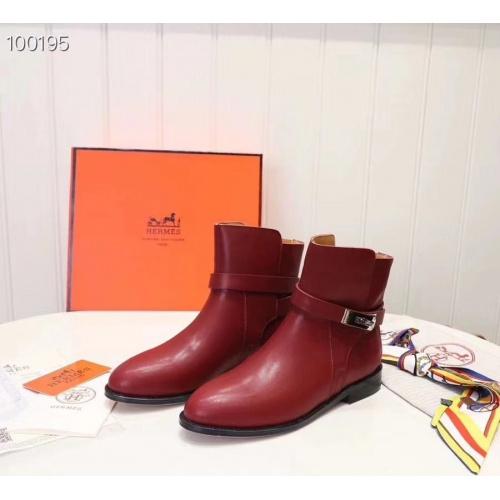 Hermes Boots For Women #821599