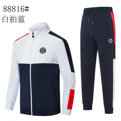 Tommy Hilfiger TH Tracksuits Long Sleeved Zipper For Men #821624