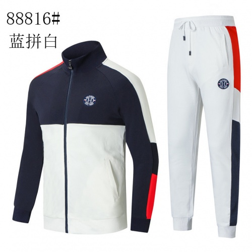 Tommy Hilfiger TH Tracksuits Long Sleeved Zipper For Men #821625