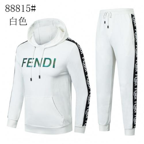Fendi Tracksuits Long Sleeved Zipper For Men #821633