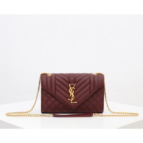 Yves Saint Laurent YSL AAA Quality Messenger Bags For Women #821647 $89.00, Wholesale Replica Yves Saint Laurent YSL AAA Messenger Bags