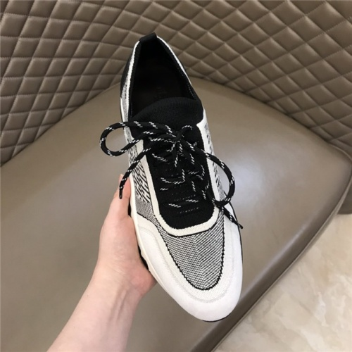 Replica Hermes Casual Shoes For Men #821690 $88.00 USD for Wholesale