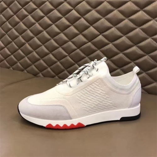 Replica Hermes Casual Shoes For Men #821691 $88.00 USD for Wholesale