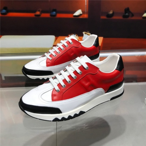 Hermes Casual Shoes For Men #821692 $88.00 USD, Wholesale Replica Hermes Casual Shoes