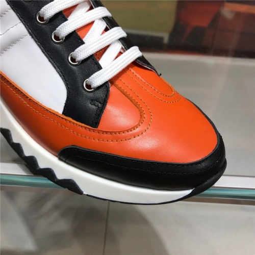 Replica Hermes Casual Shoes For Men #821693 $88.00 USD for Wholesale