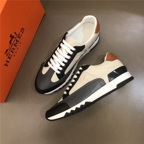 Hermes Casual Shoes For Men #821695 $88.00 USD, Wholesale Replica Hermes Casual Shoes