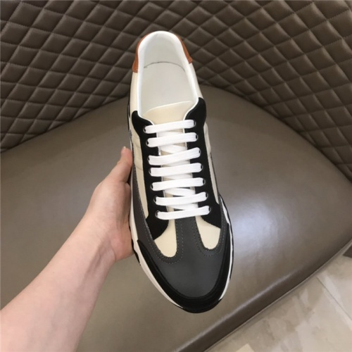 Replica Hermes Casual Shoes For Men #821695 $88.00 USD for Wholesale