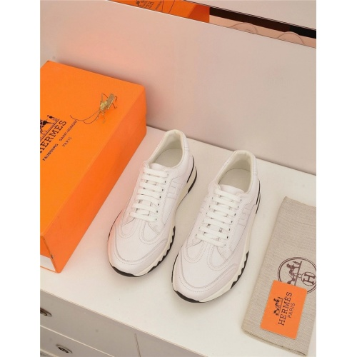 Hermes Casual Shoes For Men #821696 $88.00 USD, Wholesale Replica Hermes Casual Shoes