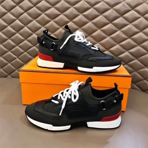 Hermes Casual Shoes For Men #821715 $88.00 USD, Wholesale Replica Hermes Casual Shoes