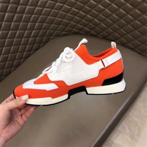 Replica Hermes Casual Shoes For Men #821716 $88.00 USD for Wholesale
