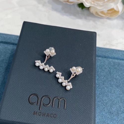 apm Monaco Earrings #821756 $34.00 USD, Wholesale Replica apm Monaco Earrings