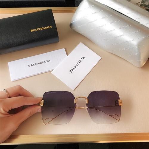 Balenciaga AAA Quality Sunglasses #821813