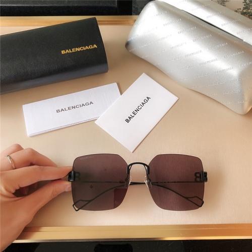 Balenciaga AAA Quality Sunglasses #821814