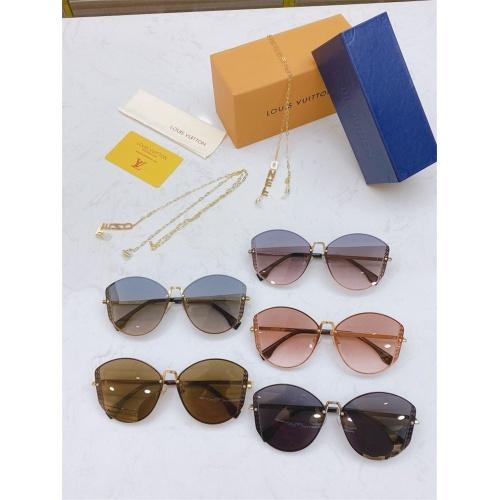 Replica Fendi AAA Quality Sunglasses #821822 $64.00 USD for Wholesale