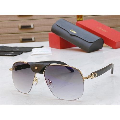 Cartier AAA Quality Sunglasses #821829