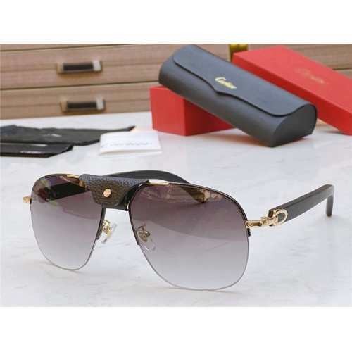 Cartier AAA Quality Sunglasses #821830