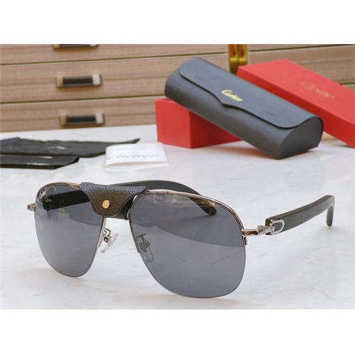 Cartier AAA Quality Sunglasses #821832