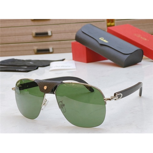 Cartier AAA Quality Sunglasses #821834