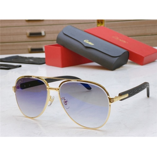 Cartier AAA Quality Sunglasses #821836