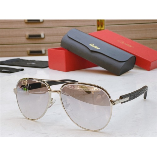 Cartier AAA Quality Sunglasses #821837