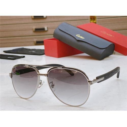 Cartier AAA Quality Sunglasses #821838