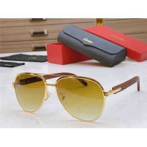 Cartier AAA Quality Sunglasses #821840