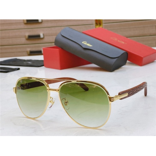 Cartier AAA Quality Sunglasses #821841