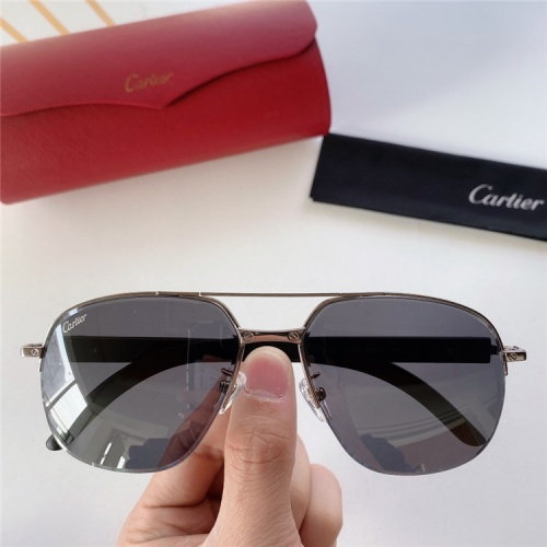 Cartier AAA Quality Sunglasses #821859