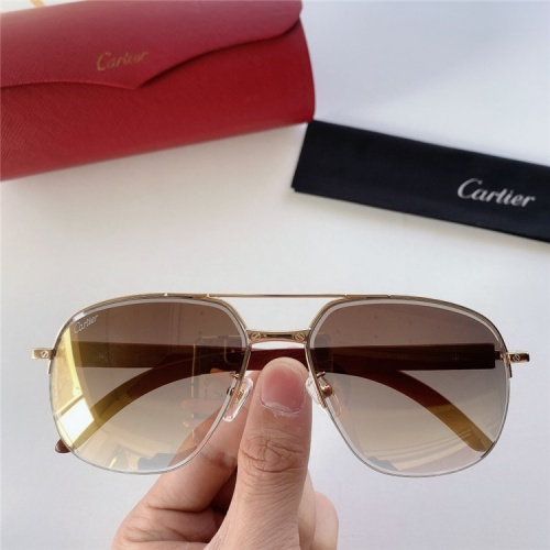 Cartier AAA Quality Sunglasses #821860