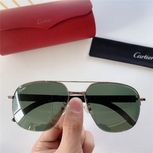 Cartier AAA Quality Sunglasses #821863