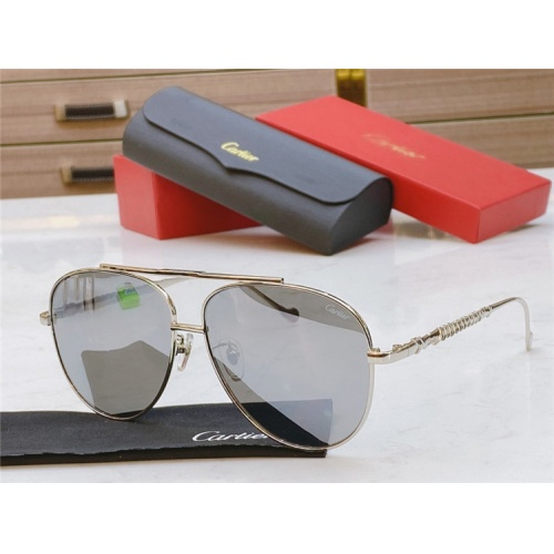 Cartier AAA Quality Sunglasses #821869