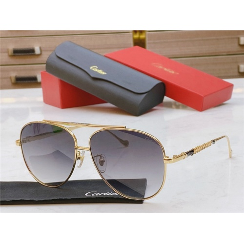 Cartier AAA Quality Sunglasses #821871