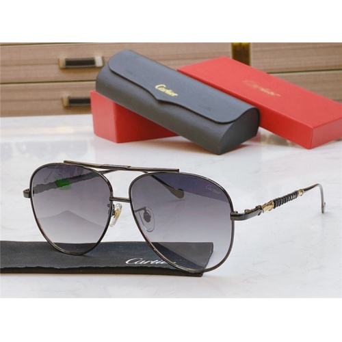 Cartier AAA Quality Sunglasses #821873